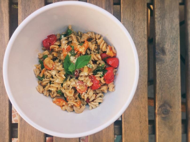 Tomato Basil Pasta ©Emeliabird 2016